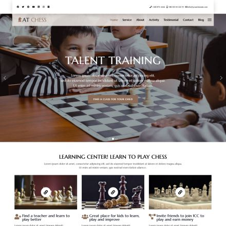 AGE Themes Chess Onepage