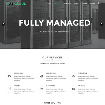 AGE Themes Cloud Onepage
