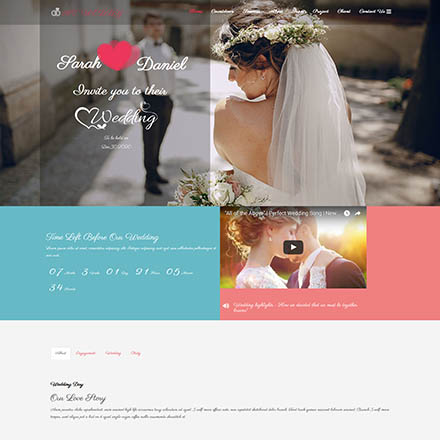 AGE Themes Weddy Onepage