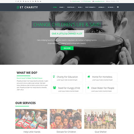 EngineTemplates Charity
