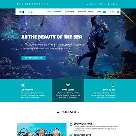 EngineTemplates Dive