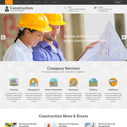 HotThemes Construction
