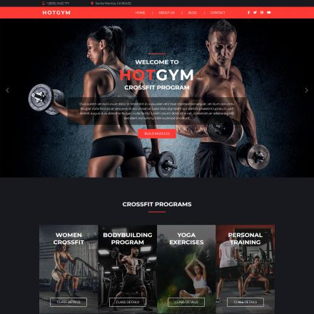 HotThemes Gym