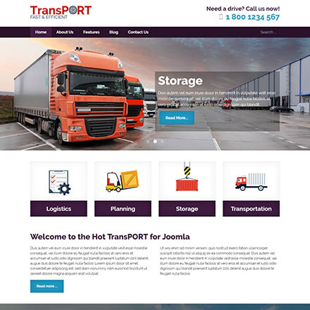 HotThemes Transport