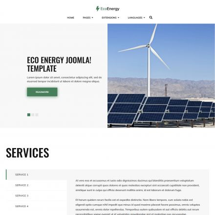 Joomla-Monster Eco Energy