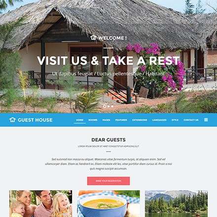 Joomla-Monster Guest House