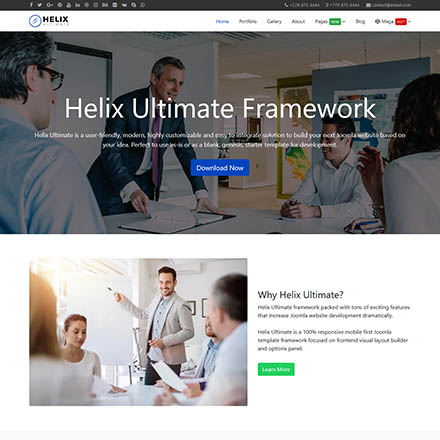 JoomShaper Helix Ultimate