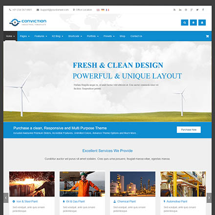 ThemeForest Conviction