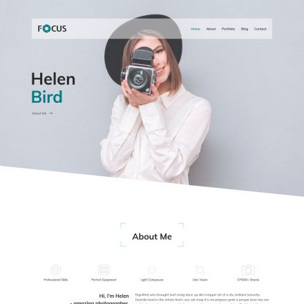 ThemeForest Focus