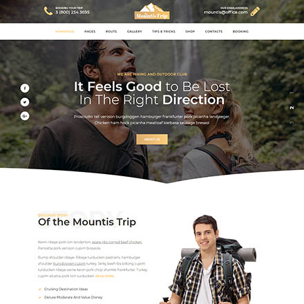 ThemeForest Mountis