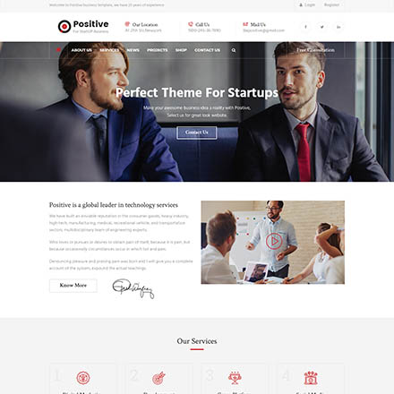 ThemeForest Positive
