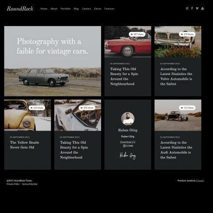 ThemeForest RoundRock