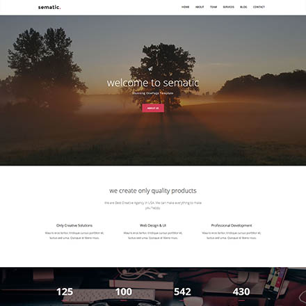 ThemeForest Sematic