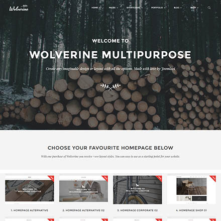 ThemeForest Wolverine