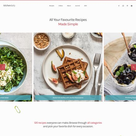 YOOtheme Kitchen Daily