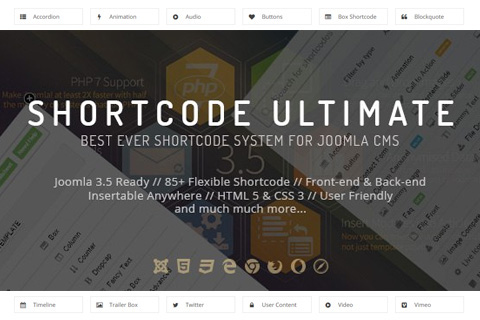 Yt shortcode ultimate plugin for joomla by smartaddons | codecanyon.